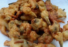 Cajun Delicacies Is A Lot More Than Just Yet Another Food Whole Bellied Fried Clams Recipes Whole Belly Clams Fried Clam Recipes, Seafood Recipes, Dinner Recipes, Cooking Recipes, Oyster Recipes, Dinner Ideas, Dessert Recipes, Fried Clams, Fried Fish