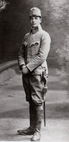 Lieutenant Bruno Vogel (Czechoslovakian) Soldier of the Austro-Hungarian Empire