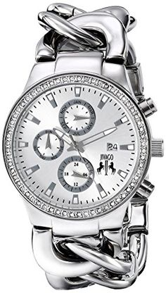 Jivago Womens JV1226 Lev Analog Display Swiss Quartz Silver Watch >>> Find out more about the great product at the image link. (Note:Amazon affiliate link)