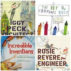 Engineering Books for Children? You bet! It's never too early to become familiar with one of the foundations of STEM (Science, Technology, ENGINEERING and Math)!