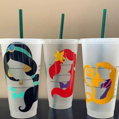 Etsy :: Your place to buy and sell all things handmade Starbucks Cup Art, Disney Starbucks, Custom Starbucks Cup, Starbucks Venti, Starbucks Diys, Starbucks Tumbler, Personalized Starbucks Cup, Personalized Cups, Disney Cups