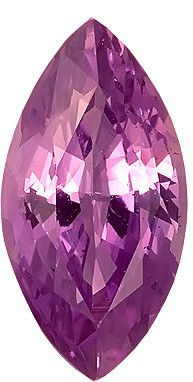 Genuine Purple Sapphire Loose Gemstone, Purple Violet Color, Marquise Cut, 10.6 x 5.8 mm, 2.01 Carats at BitCoin Gems