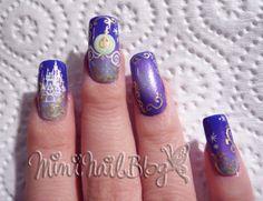 love these nails Mini Nail Blog: ☆Disney Nail Art Contest Part 1☆