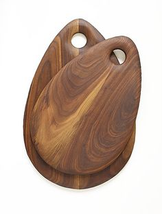 Walnut Cutting Board Teardrop Medium by Dominikwoods on Etsy