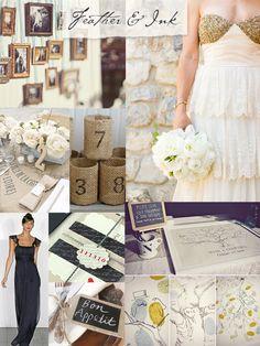 Detalles / Bodas rústicas / Eventos rústicos / Ideas originales para bodas / Decoraciones bodas / Rustic weddings / Rustic Wedding Moodboard