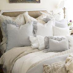 Pom Pom at Home Bedding Charlie Linen Pillow Sham.