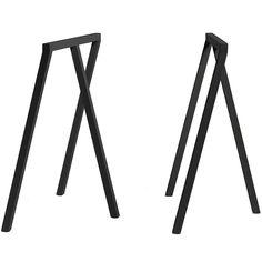 Hay Loop Stand tafel frame www. - Teak Outdoor Furniture - Hay Loop Stand tafel frame www. Teak Outdoor Furniture, Outdoor Tables, Design Shop, Simple Shapes, Table Legs, Home Furnishings, Furniture Design, Dining Table, Tabletop