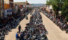 Sturgis, el Rally más grande del mundo.  #Surtis #Rally #USA #Internacional #MOTOCICLO