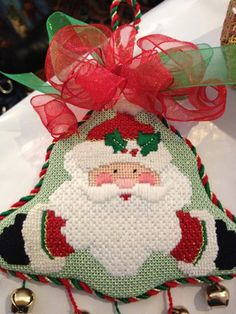 steph's stitching: Santa Baby