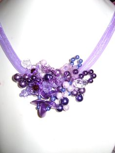 rosita dunkl Crochet Necklace, Jewelry, Fashion, Beads, Jewlery, Moda, Crochet Collar, Jewels, La Mode