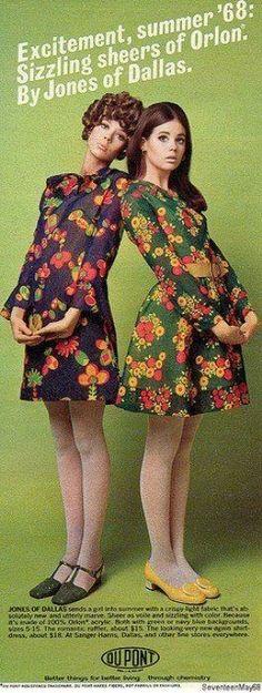 Meias Finas nos Anos 60 - Nostalgiarama