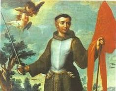 Saint John of Capistrano (1386 – 1456.)  He was a Franciscan friar and Catholic priest from the Italian town of Capestrano, Abruzzo. Famous as a preacher, theologian, and inquisitor, he earned himself the nickname (Read the rest of his story here:) https://www.facebook.com/St.Eugene.OMI/photos/a.1490771924522168.1073741828.1490724774526883/1495585947374099/?type=1&theater