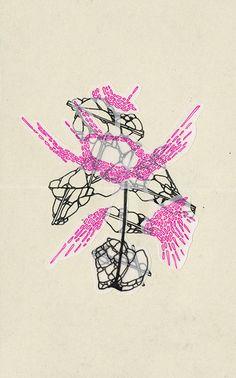 dessin & sérigraphie - julie cronier *** graphisme *** dessin