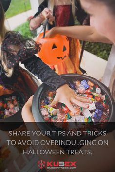 How do you moderate your food intake during the holiday season? Any tips and tricks to avoid overindulging on Halloween treats?