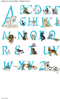 Alfabeto dei cani