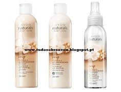 Tudo sobre Avon: Avon Naturals com aroma a Baunilha e Sândalo!