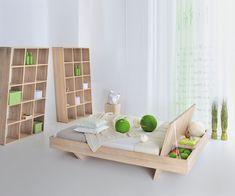 Preisgekröntes Designbett Somnia mit Stauraum