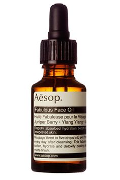 22 Global Beauty Brands You Need Now #refinery29 http://www.refinery29.com/international-beauty-brands#slide3 Aesop Fabulous Face Oil, £40, available at Aesop.