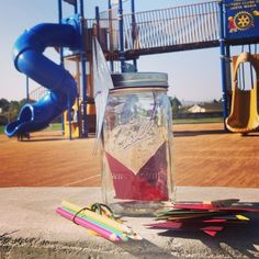 Week 41: Submitted by Mama Garcia. Create a happiness jar and leave it for someone else to find and carry on with it. Directions: spend abou...