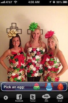 Christmas gift bag costume | Halloween | Pinterest | Christmas ...