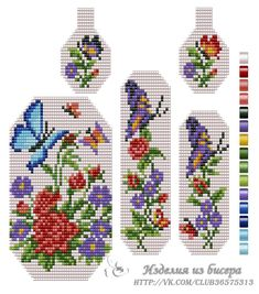 VK is the largest European social network with more than 100 million active users. Seed Bead Patterns, Peyote Patterns, Beading Patterns, Seed Bead Flowers, Beaded Flowers, Cross Stitch Rose, Cross Stitch Flowers, Embroidery Patterns Free, Beaded Embroidery
