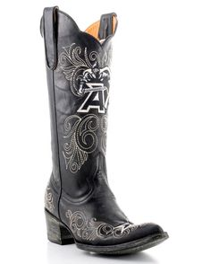 Gameday Boots Women's Army Boot - Black