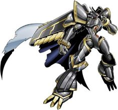 Alphamon, leader of the royal knights and of the most powerful digimon ever. The hero of movie X-Evolution and manga D-Cyber and Chronicle.