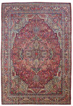 Persian Tabriz Rug, 10'4 x 14'3, Circa 1915, Landry and Arcari gallery