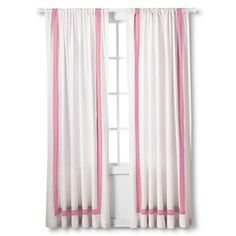 Target : Expect More. Pay Less. College Apartments, Shades Blinds, Big Girl Rooms, Curtains With Blinds, Window Panels, Sleepwear Women, Diy For Kids, Windows, Pink
