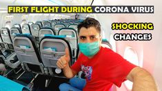 My First Flight During Corona Virus Situation (Covid-19)