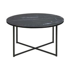 Once you have this side table at home, you won't be able to miss it anymore. It's the perfect match next to your favourite lounge chair. Accompany him with a plant or chandelier and this table transforms in a hip decoration item. Canapé Design, Black Side Table, Wooden Tops, Steel Furniture, Modern Coffee Tables, Black Marble, Black White, Dining Set, Decorative Items