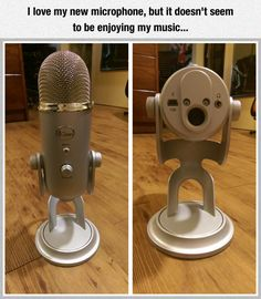 When Your Microphone Doesn't Want To Hear You