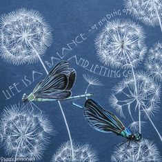 Sam Cannon, Dragonfly Art, Pen And Watercolor, Scrapbook, Word Art, Gouache, Decoupage, Inktober, Illustration Art
