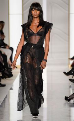 La Perla catwalk at Paris Haute Couture Fashion Week 2015