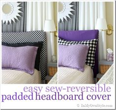 Easy sew-reversible