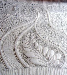 Quilting - gorgeous texture!