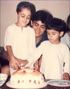 Imran Khan childhood photo...