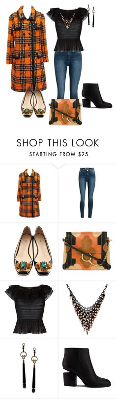 """""""Orange is the new Black"""" by kelly-haven-russell on Polyvore featuring Hardy Amies, Prada, Chloé, Alexander McQueen, Alexa Starr, Gucci and Alexander Wang"""