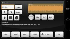 Electric Drum Machine/Sampler: Real time playback and editing features erase the need to wait for sound prior to editing. Ability to save and load custom drumkits also makes this beat composer ideal for live performances or solo samplers.