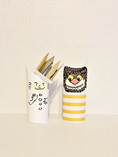 hello, Wonderful - 10 PLAYFUL PAPER TUBE CHARACTERS TO MAKE