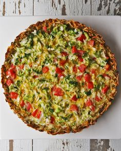 Broccoli Cheddar Quiche Recipe by Tasty