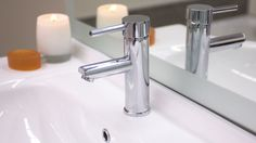 Dream Zone - - New tap wear can immediately revitalise an out-dated bathroom. New Tap, Sink, Canning, Bathroom, Home Decor, Sink Tops, Washroom, Home Canning, Bath Room