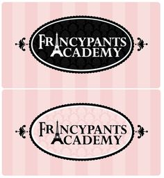 WANTED: fancy logo for {Francypants Academy} by PurpleHorns