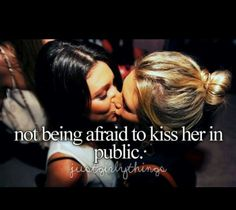 The picture says enough *sigh  #LGBT #Lesbian #Love #Kiss