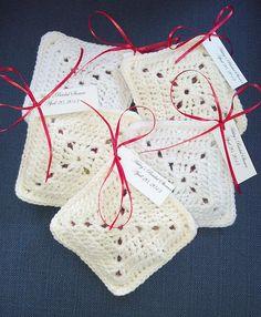 Ravelry: Potpourri Pillow Party Favors pattern by Knit A Bit, Crochet Away