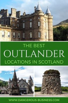 The best Outlander locations to visit in Scotland Die besten Outlander-Orte in Schottland Scotland Road Trip, Scotland Vacation, Scotland Travel, Scotland Nature, Visiting Scotland, Scotland Food, Castle Scotland, Harry Potter Château, Outlander Filming Locations