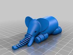 Elephant by LeFabShop - Thingiverse