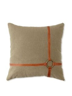 Beautiful Life Pillow Case Studio G Stones Circles White Red Orange Various Sizes