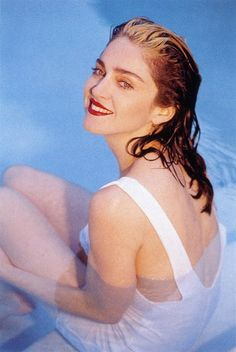 Madonna by Patrick Demarchelier, Vogue / May 1989.