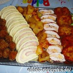 Croatian Recipes, Hungarian Recipes, Shrimp Recipes Easy, Meat Recipes, Hungarian Cuisine, Cold Dishes, Good Food, Easy Meals, Food And Drink